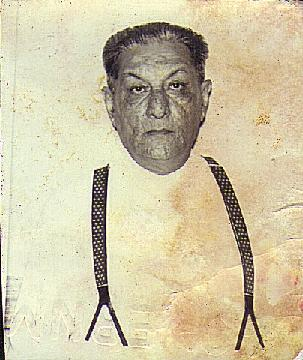 My grandfather M. D. Kermalli, M.B.E.