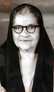 My grandmother Fatmabai M. D. Kermalli